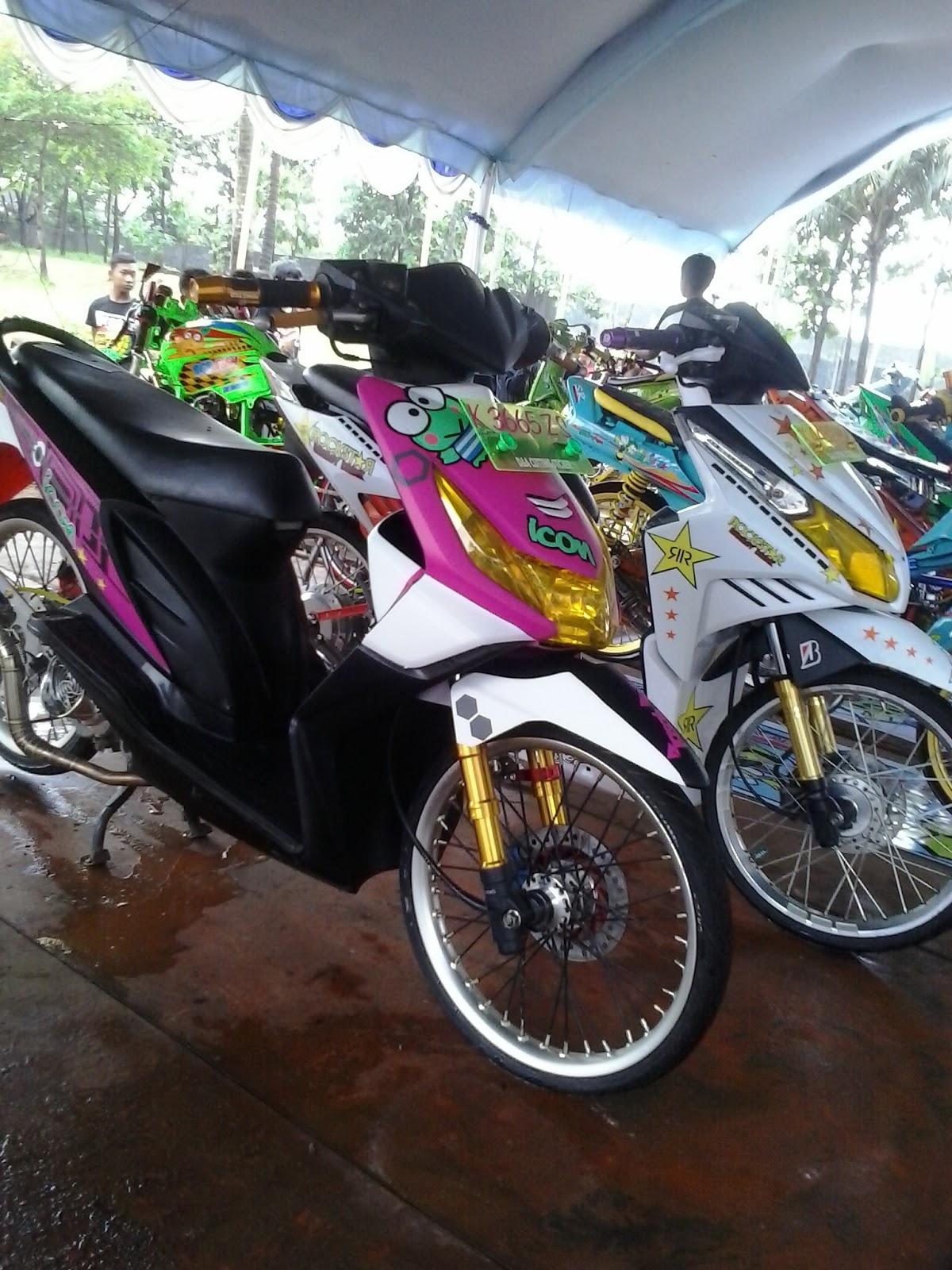 Modifikasi Motor Honda Beat 2010  modif kontes  kumpulan