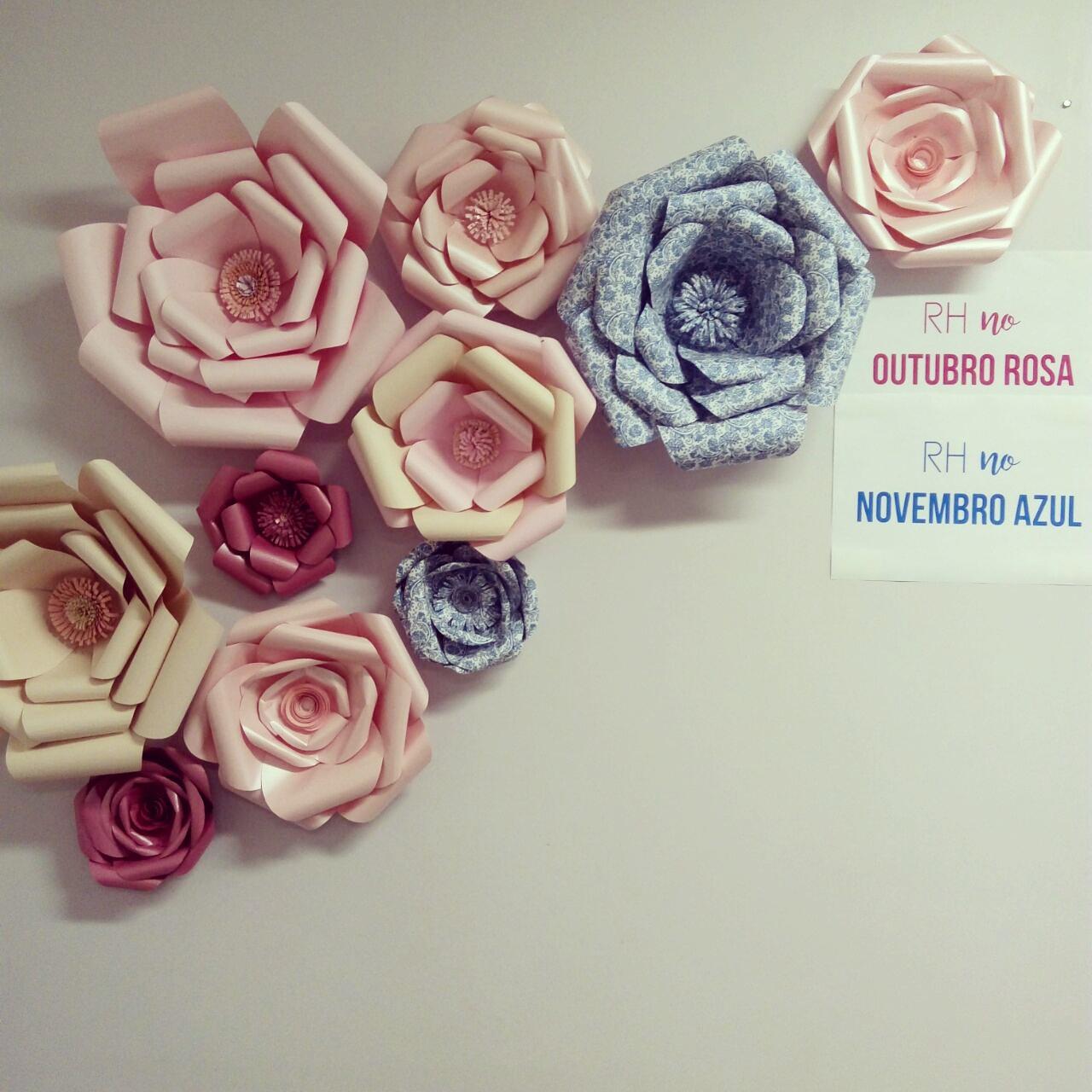 Suficiente LuTsuru Origamis Especiais : Outubro Rosa - Novembro Azul KH82