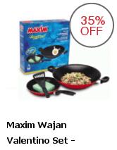 Maxim Waajan Valentino set