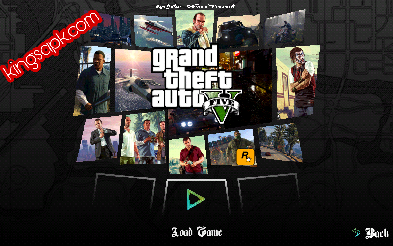 Grand Theft Auto V gta 5 MOD APK Terbaru