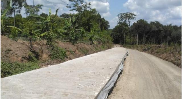 "Proyek Peningkatan Jalan Tebedak – Tanjung Bulan ""Siluman"""
