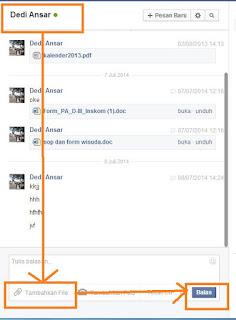 Dengan adanya internet kita perlu direpotkan untuk mengirim file atau berkas dalam bentuk Cara Mengirim File Melalui Facebook