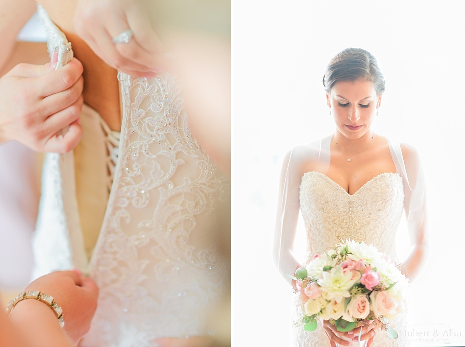 Scroll to the bottom of the post to see all of the makeup product's used for Lisette's big day! Bride's Makeup Details