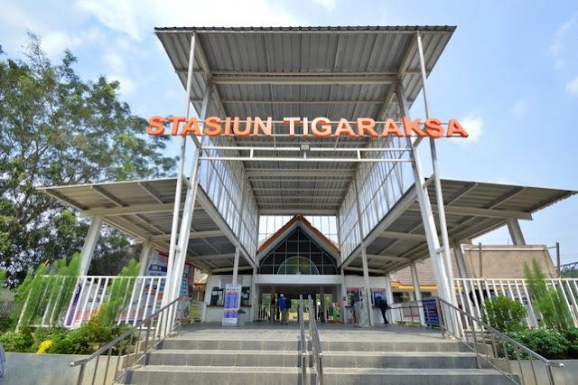 Jadwal KRL Stasiun Tigaraksa