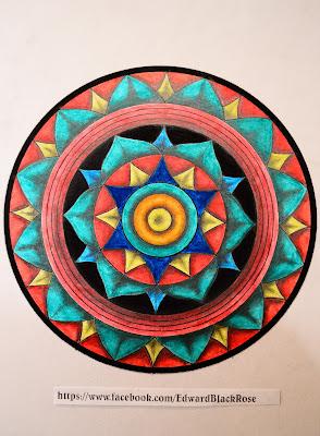 Color mandala