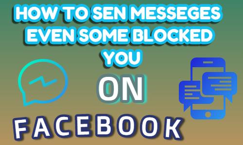 sending blocked user messages