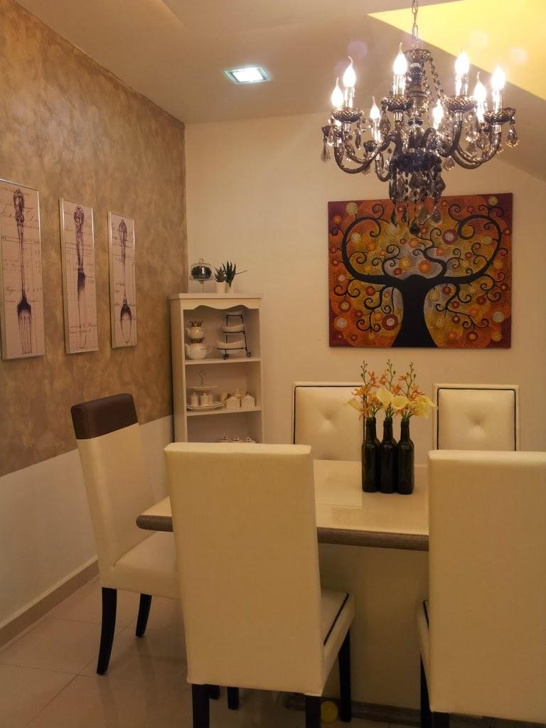 Rahsia Hatiku Dekorasi Ruang Makan Elegant