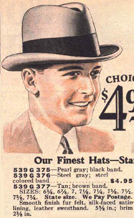 127d4b112adafb But somehow this shapeless hat of the proletariat became stylish and the hat  we know and love as the fedora.