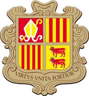 Lambang negara Andorra