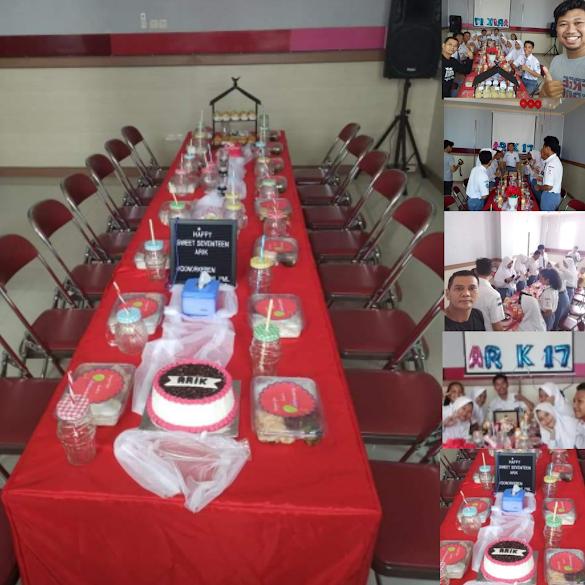 Keseruan PMR merayakan Ultah ke 17 tahun di PMI Kabupaten Pemalang