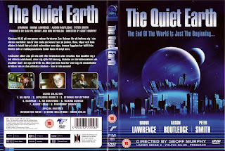 Carátula dvd: El único superviviente (1985) The Quiet Earth
