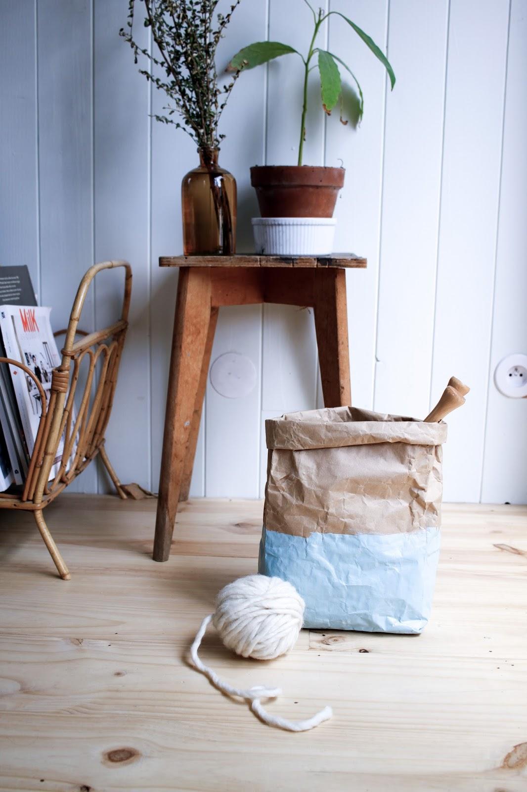 merci raoul id e r cup diy petit panier en papier. Black Bedroom Furniture Sets. Home Design Ideas