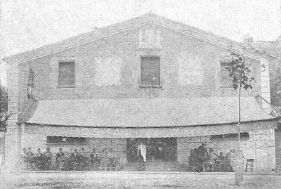 El Hostal La Marinette de Mollet, en 1935