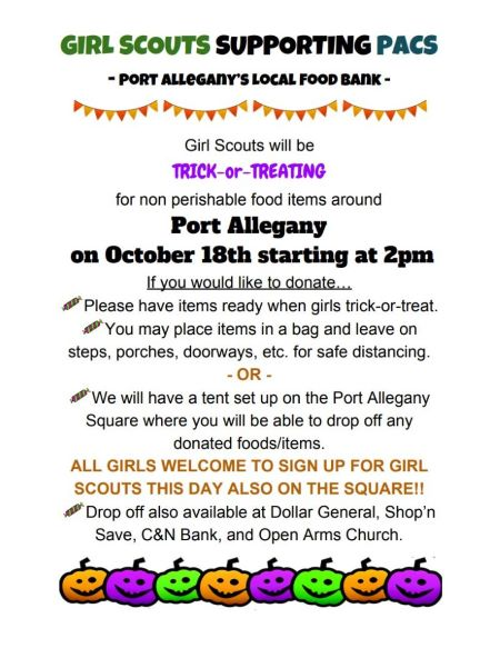 10-18 Girl Scouts Supporting Pacs