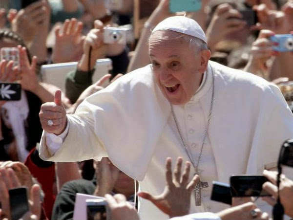 Get closer to Pope Francis: 20,000 volunteers needed for papal visit