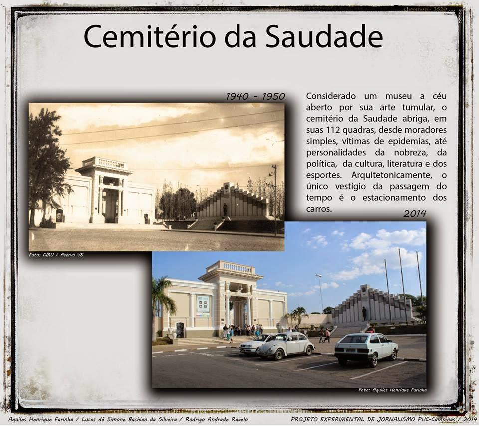 Cemitério da Saudade - Campinas
