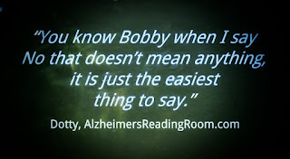 Why Do the Deeply Forgetful Say No  | Alzheimer's Reading Room