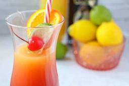 JAMAICAN RUM PUNCH #cocktail #recipe