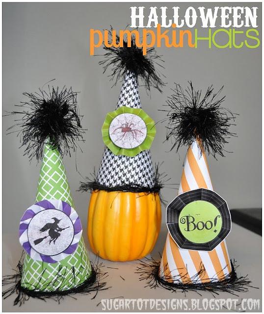 halloween paper crafts for kids halloween pumpkin hats make