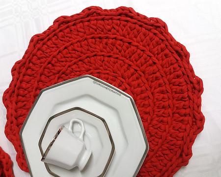 Crochet Criativo - Souplast vermelho