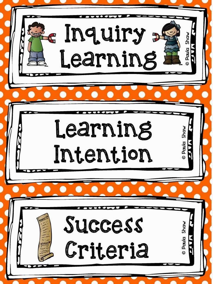 Paula S Place Learning Intention Freebie