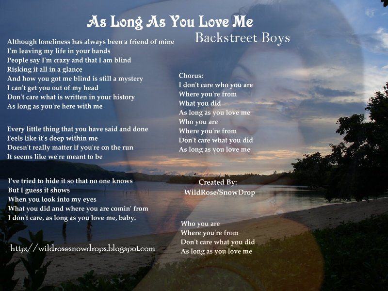 You love who you love lyrics