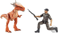 Mattel Jurassic World Toys Stygimoloch Stiggy and Mercenary 01