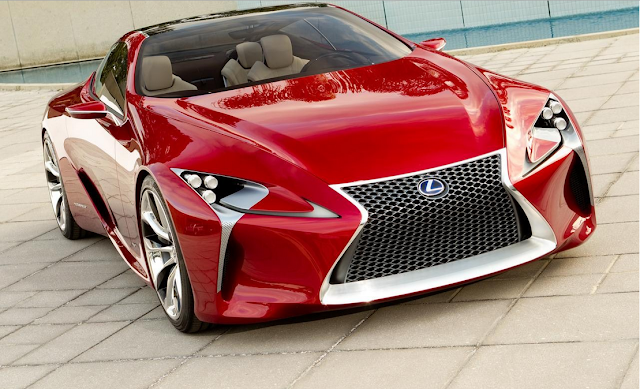 2017 Lexus LF-LC Price, Review and Release Date