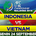 KLASEMEN SEMENTARA PIALA ASIA AFC U16, SETELAH TIMNAS INDONESIA U16 DI TAHAN VIETNAM