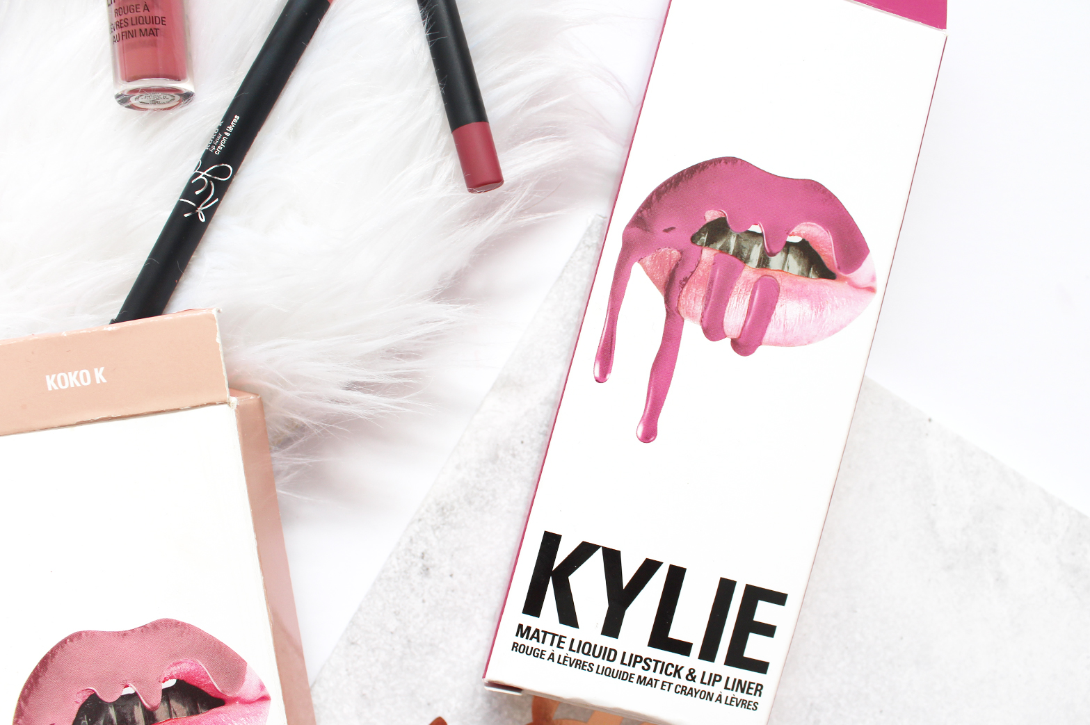 KYLIE COSMETICS | Lip Kits in Koko K + Posie K - Review + Swatches - CassandraMyee