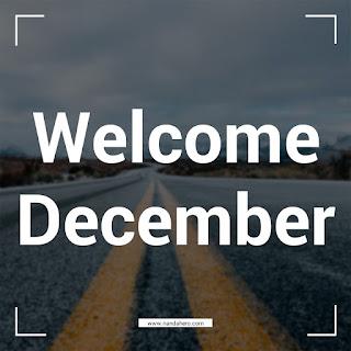 Kumpulan Gambar Selamat Datang (Welcome) Bulan Desember 2018