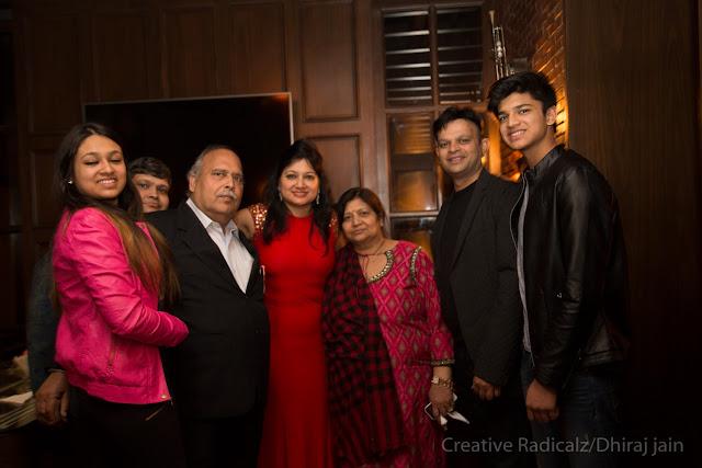 Nandini Gupta + Anoop Gupta + Mahender Kumar Gupta (Father of Manuj M Gupta) + Madhvika Gupta+Sumitra Gupta(Mother of Manuj Gupta)+Mohan Gupta+Neel Madhav Gupta