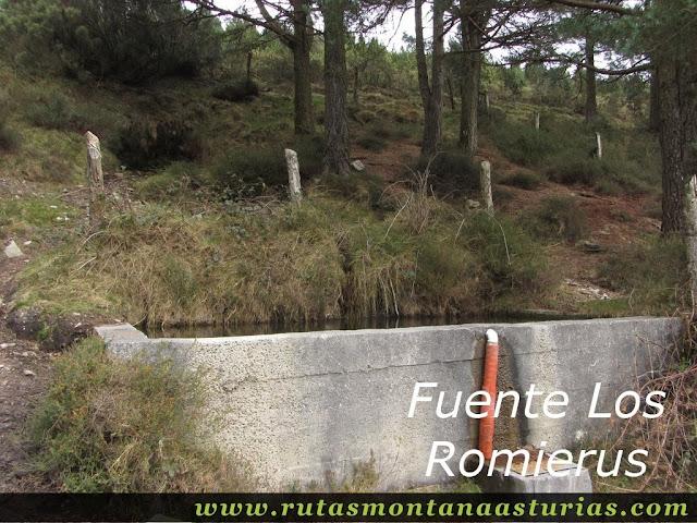 Fuente Los Romierus