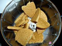 Triturando las galletas