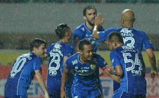Persib Bandung Menang 3-0 atas PS TNI