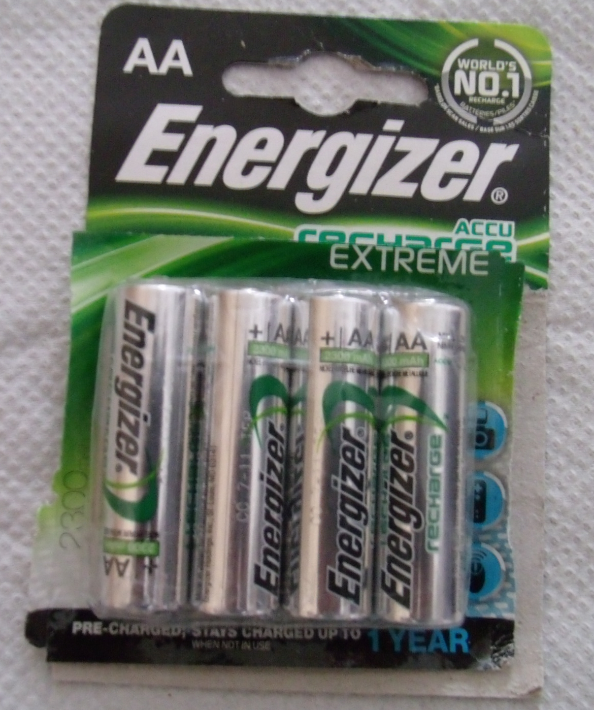 Accu Rechargeable Britwise I Bought Energizer Aa Accu Recharge Extreme 2300mih 4