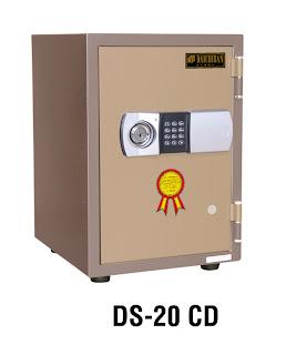 """Brankas Fire Resistant Safe Digital Daichiban DS 20 CD"""