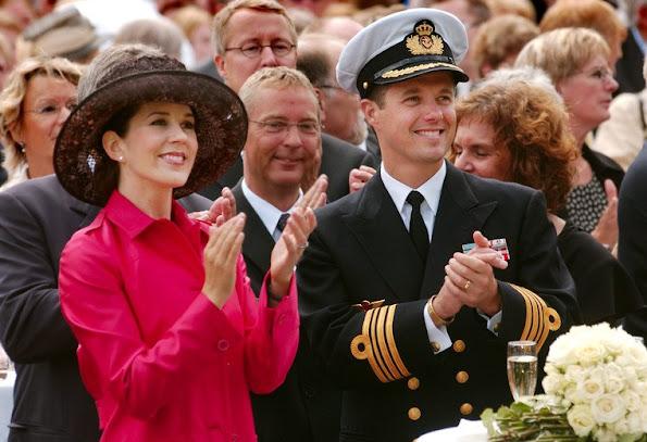 Prince Frederik and Princess Mary got married at Copenhagen Cathedral wedding ceremony wedding dress, diamond earrings, diamond tiara, Princess Mary style