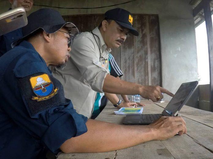 Kadis PUPR Ir M Fauzi MT Tinjau Akses Jalan Pelabuhan Ujung Jabung