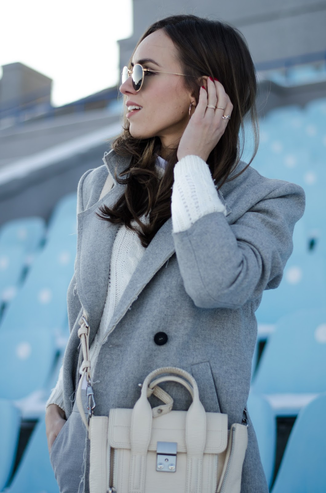 kristjaana mere grey winter outfit