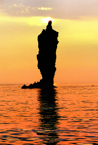 Candle Rock, Dogo, Oki Islands, Shimane.