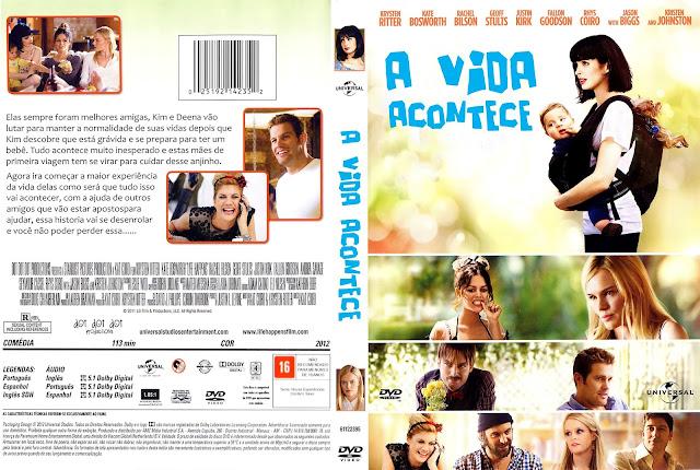 Capa DVD A Vida Acontece