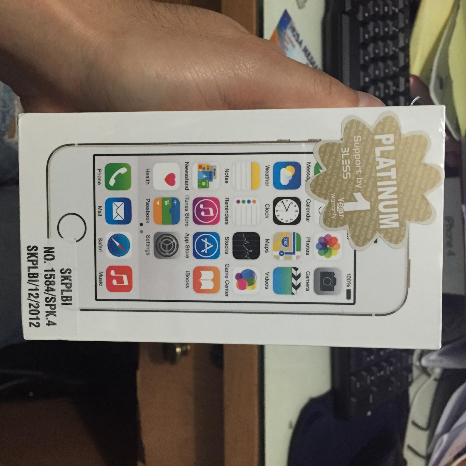 Membedakan Garansi Iphone International Vs Resmi Distributor 5 32gb 1 Tahun Dusbox Bcell Platinum The One Bless
