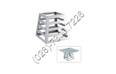 Chân đế inox hình trụ vuông đơn KB3302