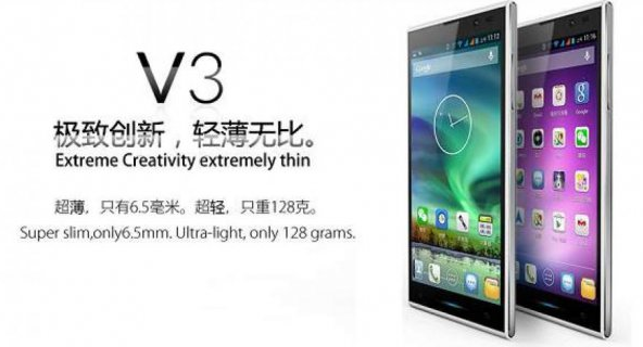 iNew V3, Smartphone Android Paling Tipis di Dunia