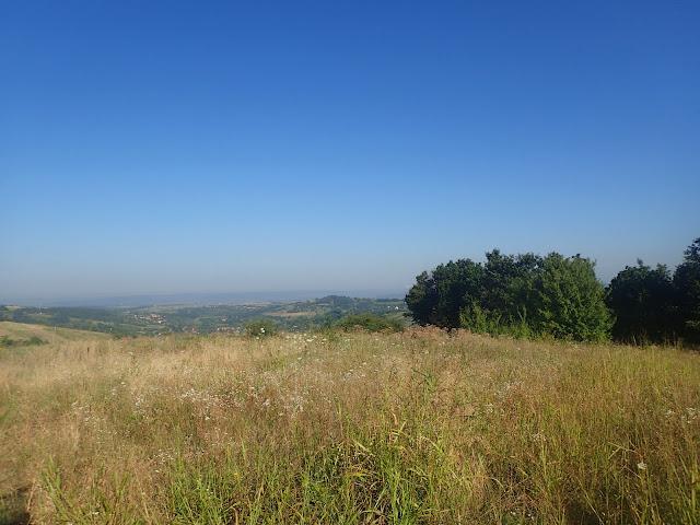 Miejsce noclegowe na wzgórzach (Rumunia)