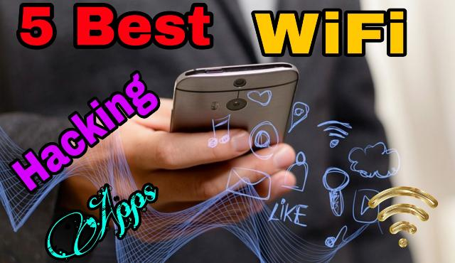 Top 5 WiFi Hacking Apps For Android No Root