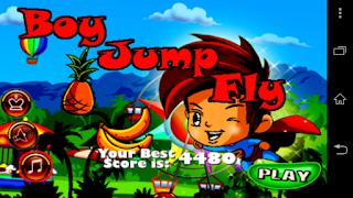 Boy Jump Fly