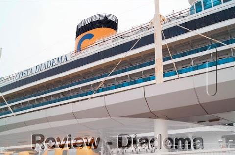 COSTA DIADEMA - 01 Embarque