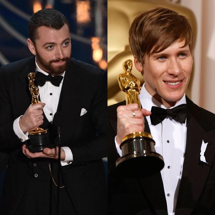 Dustin Lance Black ataca a Sam Smith por decir que fue el primer hombre abiertamente gay en ganar el Oscar.